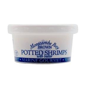 Marine gourmet potted shrimps brown