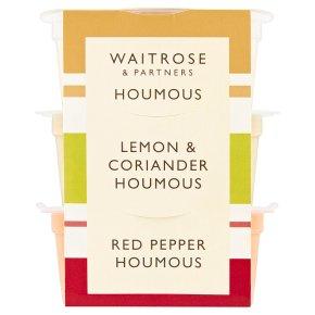 Waitrose Houmous Trio