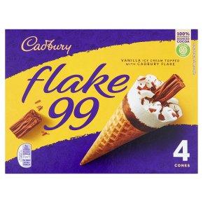 Cadbury Flake 99 4 Cones