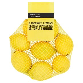 Cooks' Ingredients Unwaxed Lemons