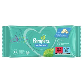 Pampers Complete Clean Baby Wipes
