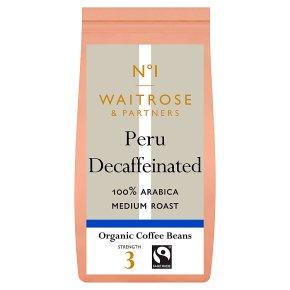 No.1 Peru Decaffeinated Coffee Beans