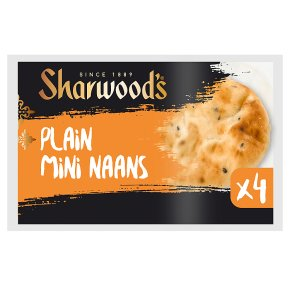 Sharwood's Plain Mini Naans