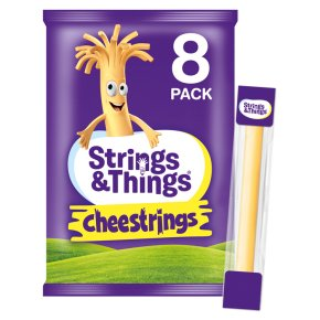 Cheestrings 8 Pack