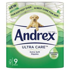 Andrex Skin Kind Clean Ripple