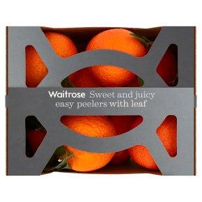Waitrose Easy Peelers with Leaf