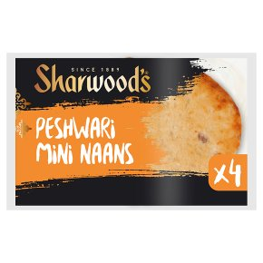 Sharwood's Mini Peshwari Naans