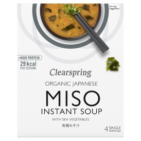 Clearspring miso soup with sea vegetables