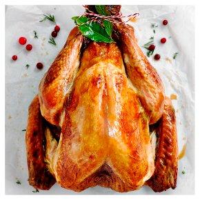 Large Free Range Bronze Feathered Whole Turkey with Giblets