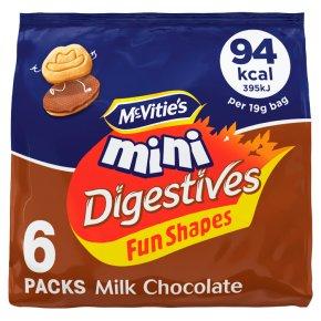 McVitie's Mini Digestives Milk Chocolate