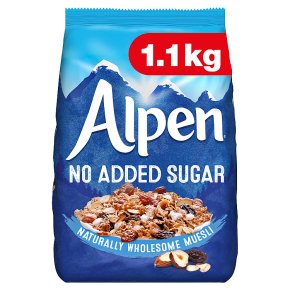 Alpen No Added Sugar Swiss Style Muesli