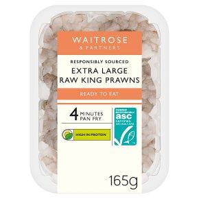 Waitrose Extra Large King Prawns ASC