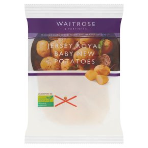 Jersey Royal Baby New Potatoes