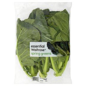 essential Waitrose spring greens