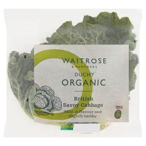 Duchy Organic Savoy Cabbage