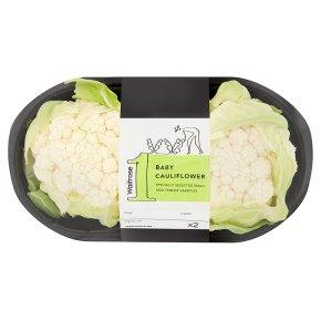 Waitrose Baby Cauliflowers