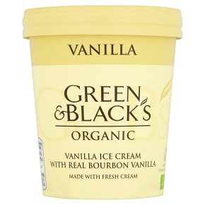 Green & Black's Vanilla Ice Cream