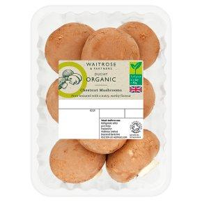 Duchy Organic Chestnut Mushrooms