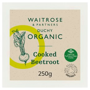 Duchy Organic Cooked Beetroot