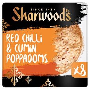 Sharwood's Chilli & Cumin Poppadoms