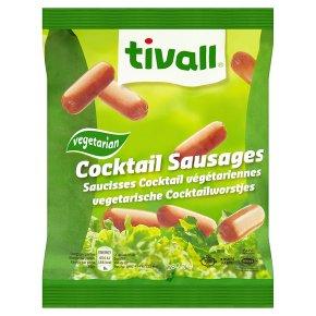 Tivall cocktail sausages vegetarian