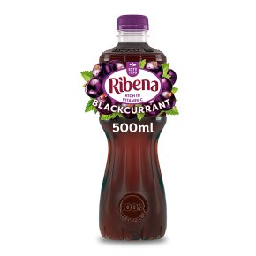 Ribena juice drink blackcurrant