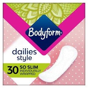 Bodyform Daily Fresh Liners So Slim Wrapped
