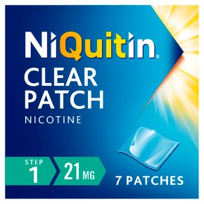 NiQuitin Clear Step 1 Patches