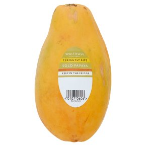 Waitrose Large Solo Papaya