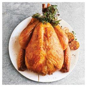 Medium Free Range Bronze Feathered Whole Turkey with Giblets