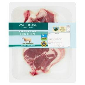 Waitrose British 2 Lamb Loin Chops