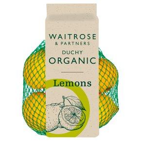Duchy Organic Lemons