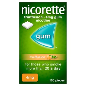 Nicorette Fruitfusion 4mg Gum