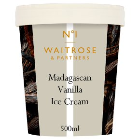 No.1 Madagascan Vanilla Ice Cream