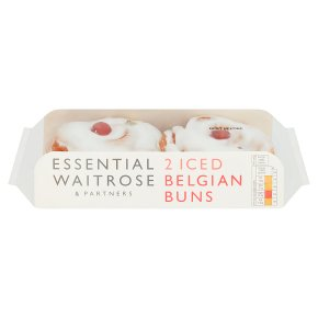 Essential Iced Belgian Buns