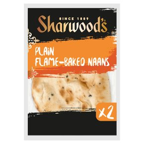 Sharwood's Plain Naans