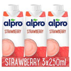 Alpro Soya Strawberry Long Life Drink