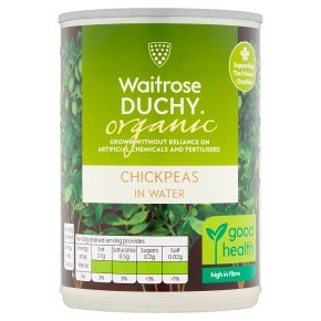 Duchy Organic Chick Peas In Water