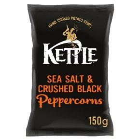 Kettle Chips sea salt with black peppercorns