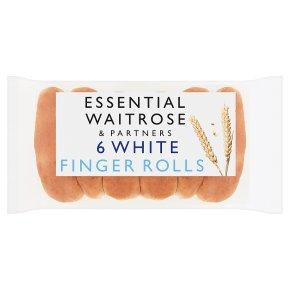 Essential White Finger Rolls