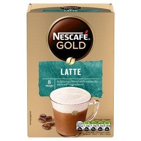 Nescafe Gold Sachets Latte Instant Coffee