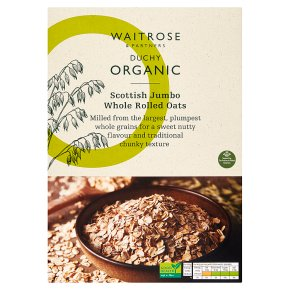 Waitrose Duchy Jumbo Rolled Oats