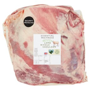 Essential British Lamb Whole Shoulder