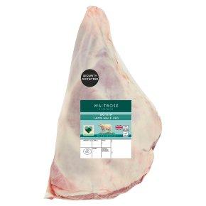 Waitrose British Lamb Half Leg