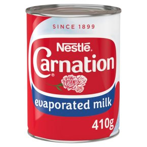Nestlé Carnation Topping Evaporated Milk
