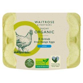 Duchy Organic British Free Range Eggs Large