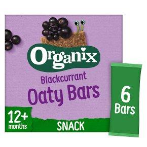 Organix Blackcurrant Soft Oat Snack Bars