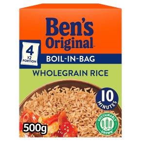 Ben's Original Boil-In-Bag Wholegrain Rice