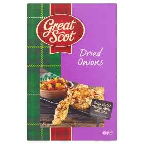 Great Scot dried onions