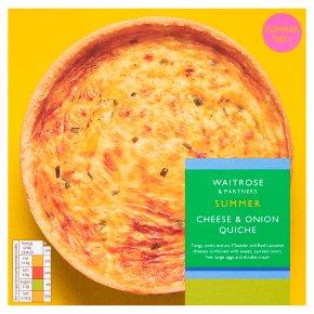 Waitrose Cheese & Onion Quiche